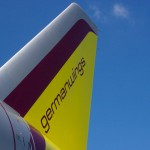 Germanwings Heckflosse
