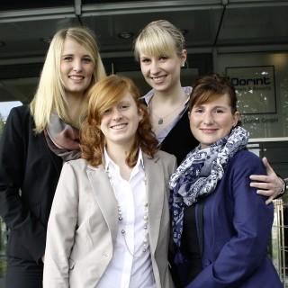 Dorint Sales Manager: Verkaufstalente beginnen ihr internes Entwicklungsprogramm: Saskia Stern, Tina Stamm, Mandy Schonscheck Sandra Krause (von links).