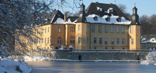 Schloss Dyck im Winter
