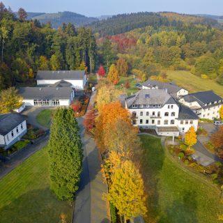 Dorint Parkhotel Siegen: Die sechs Gebäude der Vier-Sterne-Anlage auf einen Blick.